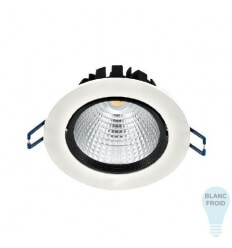 Bombilla COB LED empotrable 15W 30000H 6000K