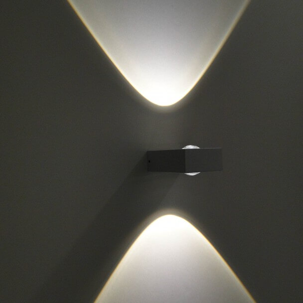 Aplique LED Pop - blanco