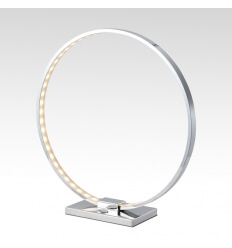 Lámpara de mesa - cromo LED - Collection Circle