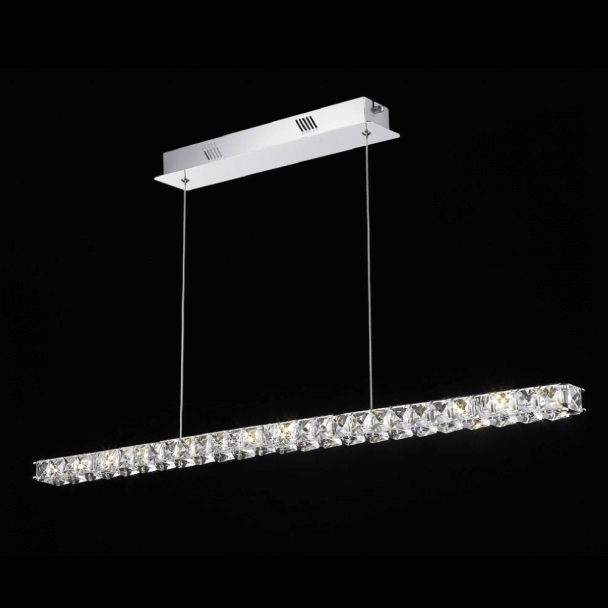Lámpara de techo - cristal LED horizontal bar - Kirn