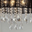Suspension prestige design en cristal - Regina