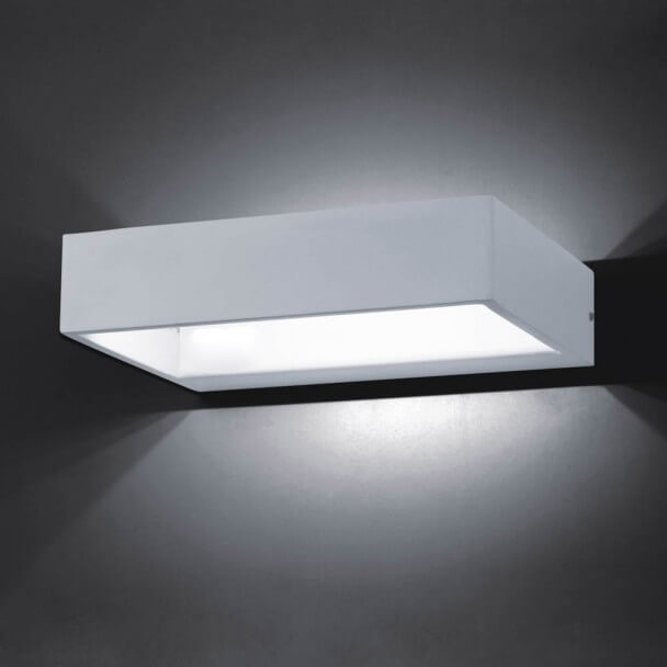 Aplique - LED rectángulo Recto 6W - 20 cm