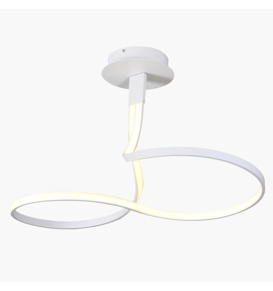 Plafón LED blanco 2 bucles - Frizz