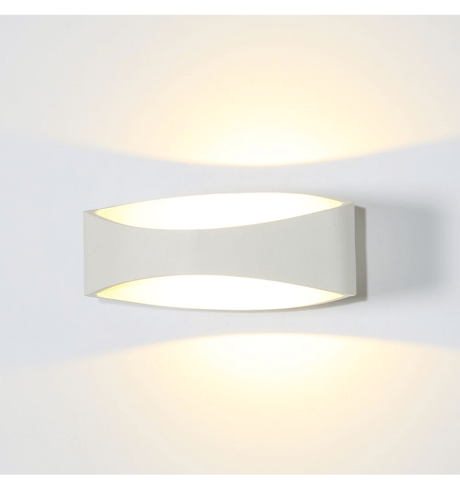 LED Moderno Blanco Aplique - Alyson