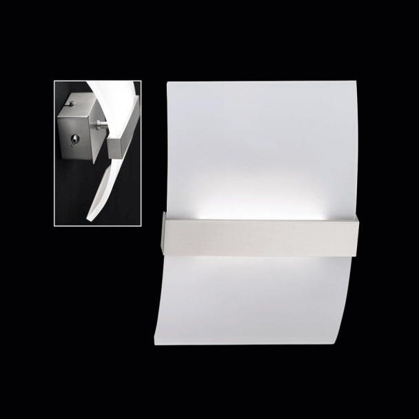 Lámpara de pared LED con interruptor - Devon