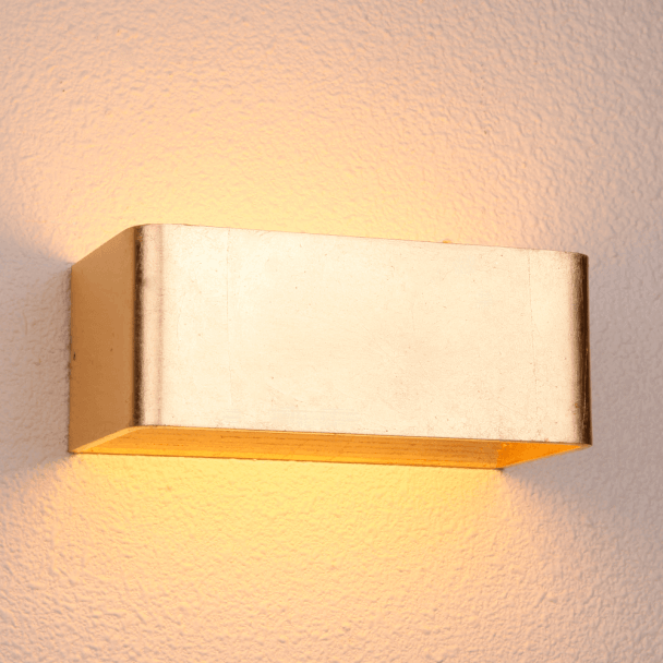 Aplique de LED pan de Oro - Quadra 20 cm