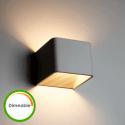 Aplique de LED 6W Dimeable - Quadra 10 cm