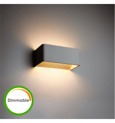 Aplique de LED 6W Dimeable - Quadra 20 cm