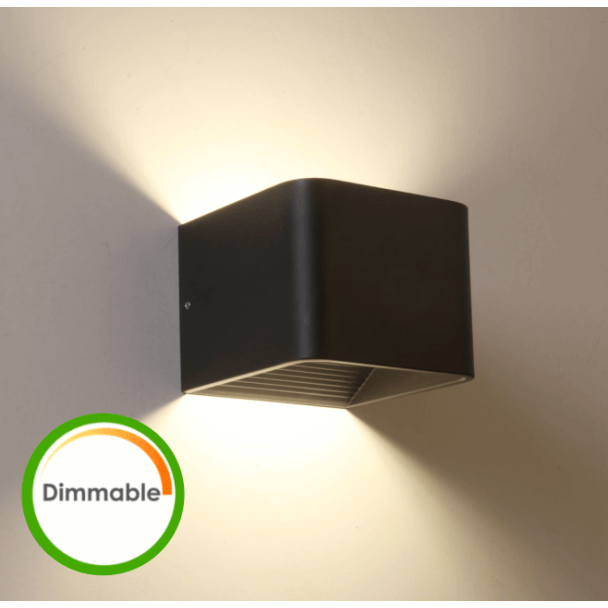 LED dimmer compatible con luz de pared negra - Quadra