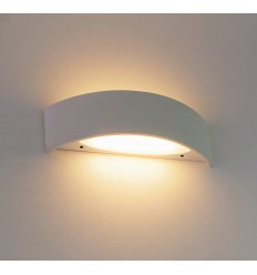 Lámpara de pared de aluminio LED 6W - Sirius